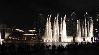 Dubai Fountain 2016 ( by Enrique Iglesias)