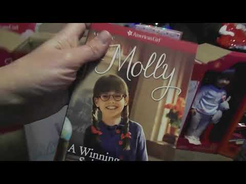 American Girl Molly And Maryellen Beforever Costco Gift Set!