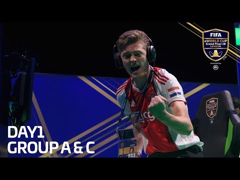 FIFA EWorld Cup 2018- Groups A & C (English Commentary)