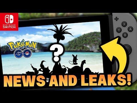 Pokémon Switch NEWS & RUMOURS - ALOLA FORMS IN GO!? Pokémon Let's GO Pikachu & Let's GO Eevee