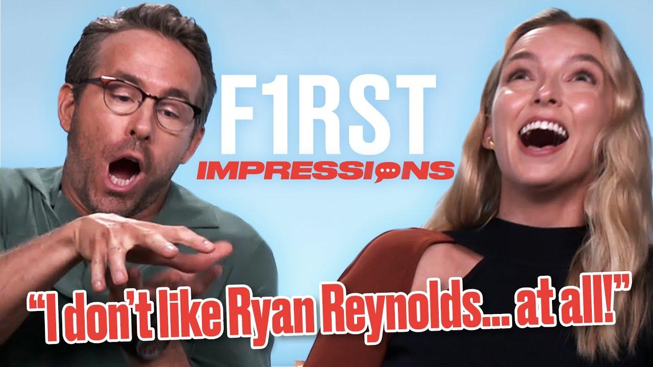 Ryan Reynolds Impersonates Hugh Jackman | First Impressions | @LADbible TV