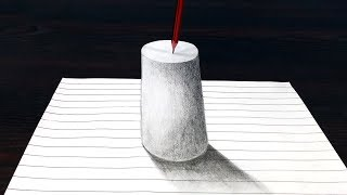 Easy 3D Drawing - This SUMMER Surprise Everyone with Your 3D TRICK ART on Paper!