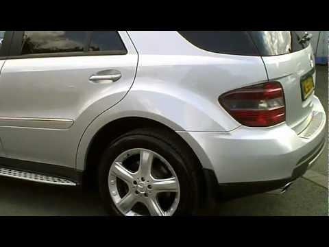 2006(56) MERCEDES ML320 CDI SPORT DIESEL 3.0 V6 SILVER AUTO