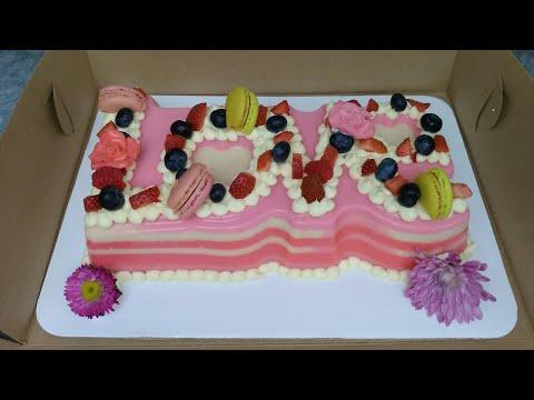 Gelatina letras love youtube - Moldes para gelatina ...