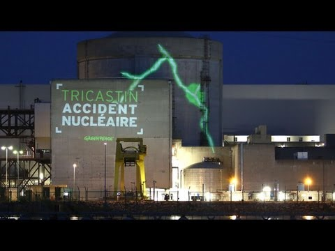 Greenpeace activists break into EDF nuclear power plant in France