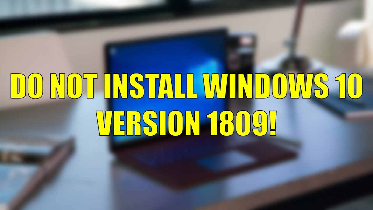 windows 10 1809 update not showing