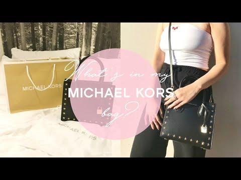 Whats in my NEW MICHAEL KORS Bag?! ♡| Cass Wong