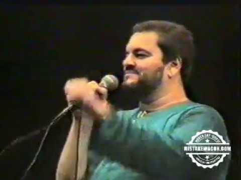 Nitin Mukesh at Gujarat Club Calcutta   Hirak Mahotsav, 1990 with Manoj Tolia & Narendra Kapadia