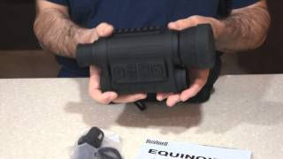 Bushnell 6X 50mm Equinox Z Night Vision Unboxing