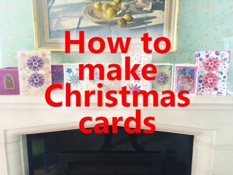 Paper Craft Christmas Cards
