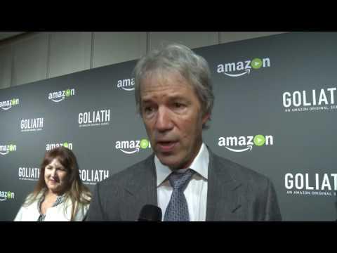 David E. Kelley at Goliath Premiere