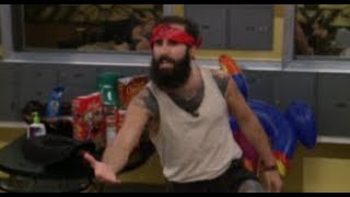 BB19 Paul Does A SPOT-ON Impression Of The Houseguests (Live Feeds - 8/30/17)