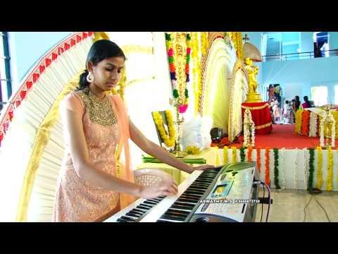Kolakuzhal vili ketto radhe... keyboard performance by Aswathy MS
