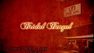 Bridal Bengal Fashion Show Title Card