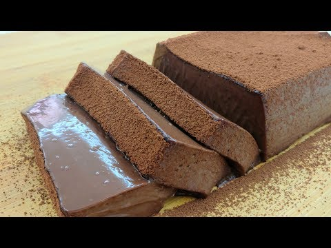 No-Bake Chocolate Mousse Cake | Eggless & No Oven