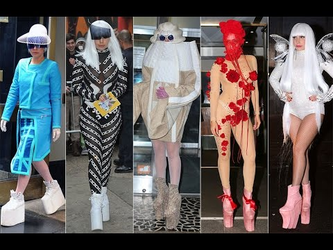 Lady Gaga's Shocking Style Throughout The Years