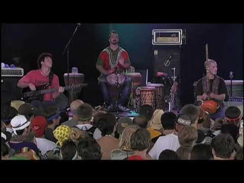 """Toubab Krewe plays """"Sirens"""" at Bonnaroo 2009."""