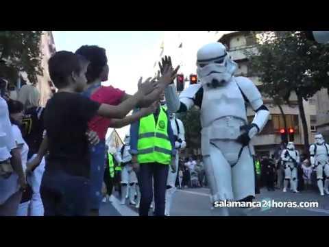 Training Day en Salamanca - desfile Legión 501 -