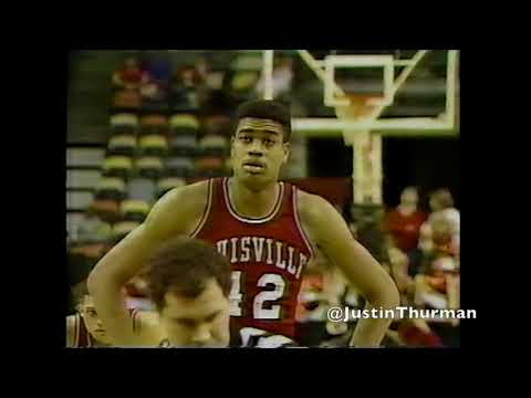 Louisville Cardinals At Cincinnati Bearcats 2/87 (1987)