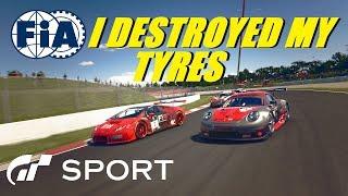 GT Sport I Destroyed My Tyres -  FIA Manufacturer Round 4