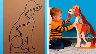 22 DIY GIANT TOYS FOR YOUT KIDS