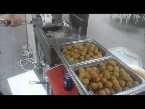 Falafel machine and mixture