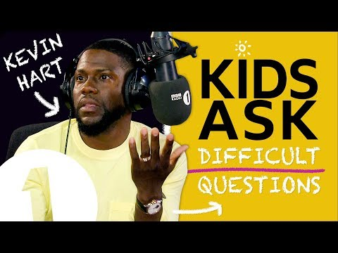 """""""These kids can all kiss my a**!"""": Kids Ask Kevin Hart Difficult Questions"""