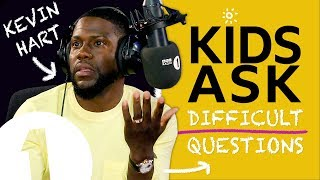 """These kids can all kiss my a**!"": Kids Ask Kevin Hart Difficult Questions"