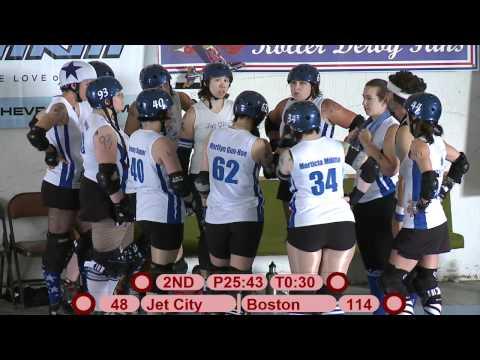 Everett Jet City Roller Girls vs. Boston Derby Dames