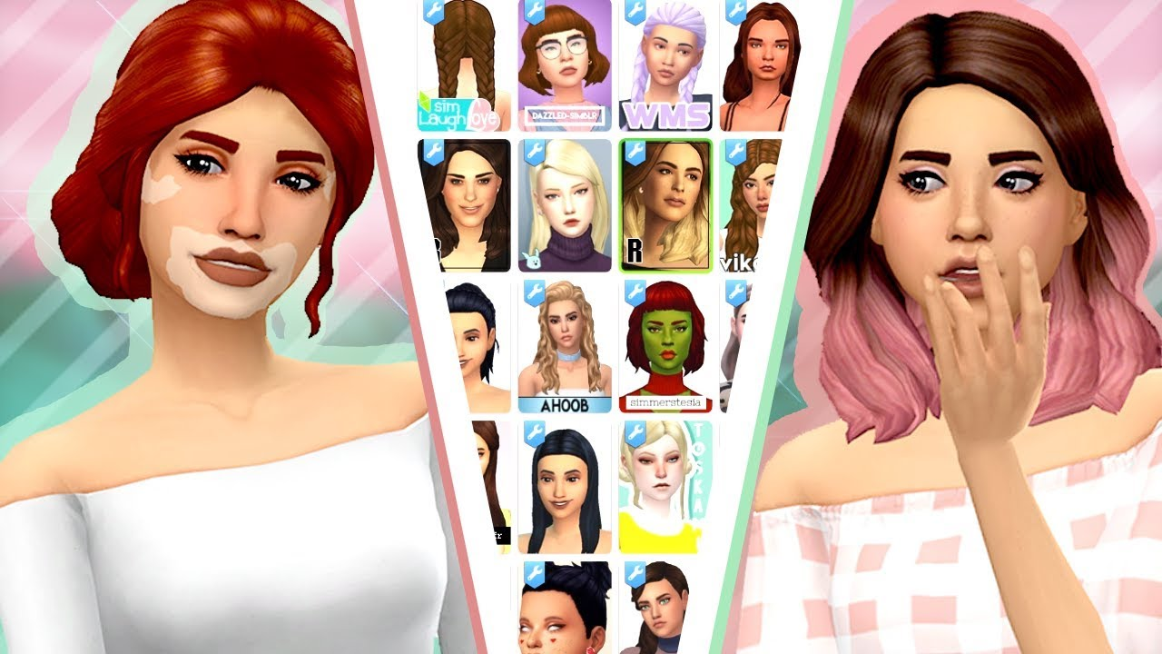 Custom Content Shopping All Linked 70 Items The Sims 4 Youtube