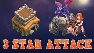 Town Hall 8 Attack Strategy 2017 in Clan Wars | CoC 3 Star MAX TH8 War Base | Clash of Clans