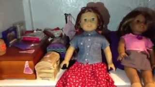 American Girl Doll House Tour 2013!