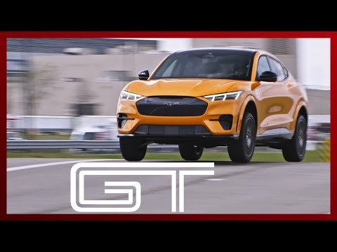 2021 Ford Mustang Mach-E GT ridealong EXCLUSIVE -- so fast it makes me SICK