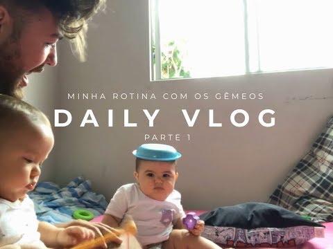 MINHA ROTINA COM OS GÊMEOS  / GUARDA COMPARTILHADA parte 1