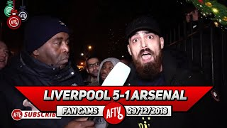 Liverpool 5-1 Arsenal | Kroenke Needs To Support Emery & Spend Some Money!! (Turkish Rant)
