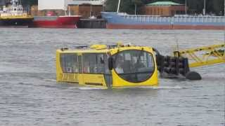 Rotterdam Splash Bus. Seeing is believing!!