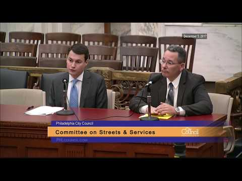 Committee on Streets and Services 12-5-2017