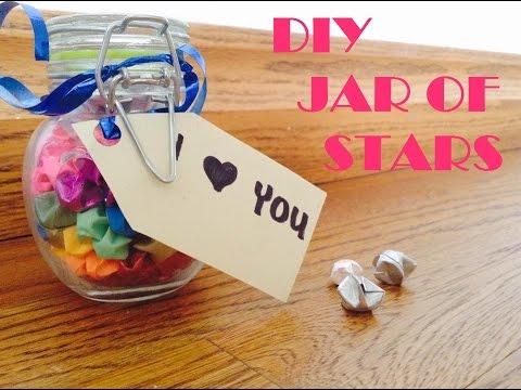 DIY JAR OF STARS ORIGAMI STARS YouTube