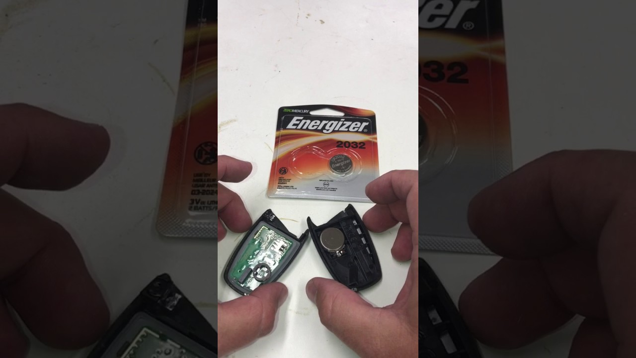 Hyundai Key Fob Or Remote Battery Change Out Youtube