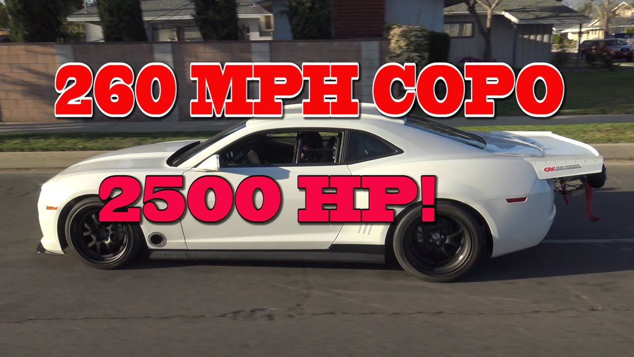2500 Hp Copo 260 Mph Texas Mile Contender Nelson Racing Engines