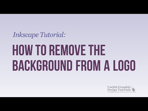 Inkscape tutorial remove background from image then p for Removethebackground com