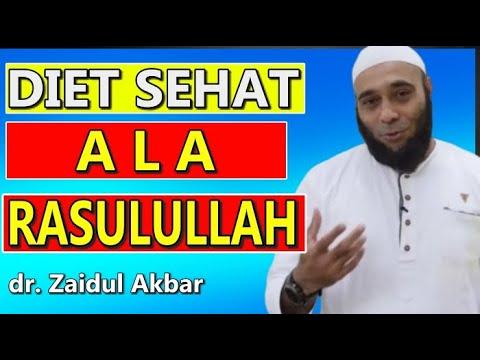 ❤️Cara Diet Sehat Cepat Dan Alami Ala Rasulullah - Dr. Zaidul Akbar
