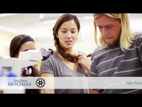 Enroll now for Summer classes at Mesa College
