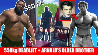 Could Julius Maddox be a Bodybuilder + 550kg Deadlift Record + Arnold Schwarzenegger's Older Brother