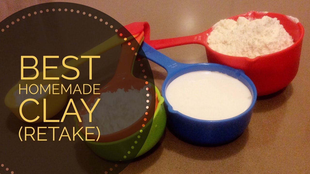 Cold Porcelain Recipe with 7 Ingredients - Testing - YouTube