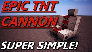 1.8.8 EPIC SIMPLE TΝT CANNON 2 REDSTONE NO DISPENSERS ONLY 1 WATER SOURCE