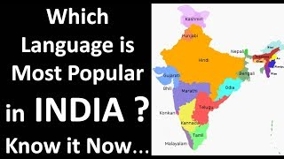 TOP 10 Most Spoken Language of INDIA Truth of Life