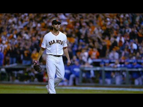 Bumgarner drives Royals hitters mad in the 2014 WS