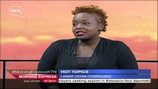 Morning Express Friday 16th October 2015 Hot Topics in Kenya