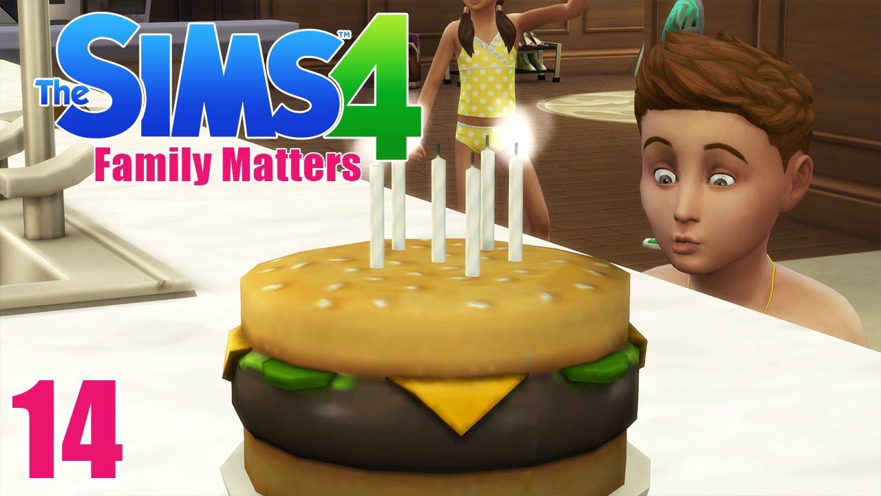 The Sims 4 Birthday Cake